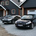 Peugeot 508, 407 og 605